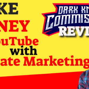 How To Make money with YouTube Dark Knight Commissions.