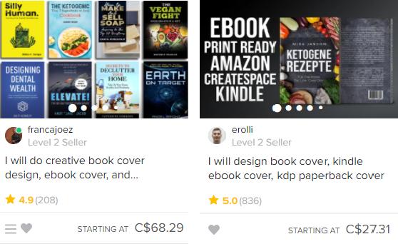 Ebook cover designers
